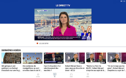 App BFMTV - Actualités en direct et replay APK for Windows Phone