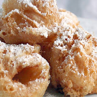 Lychee Fritters.