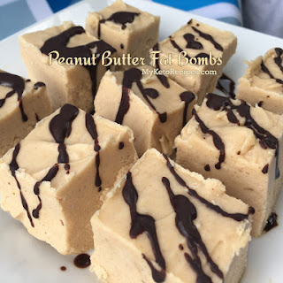 Peanut Butter Fat Bombs For a Keto Diet.