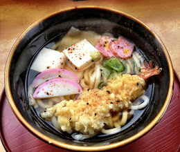 Photo: Tempura Udon - from near the Golden Pavilion