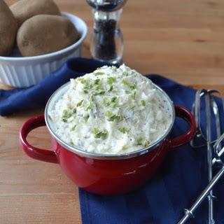 All-Natural Creamy Garlic Mashed Potatoes