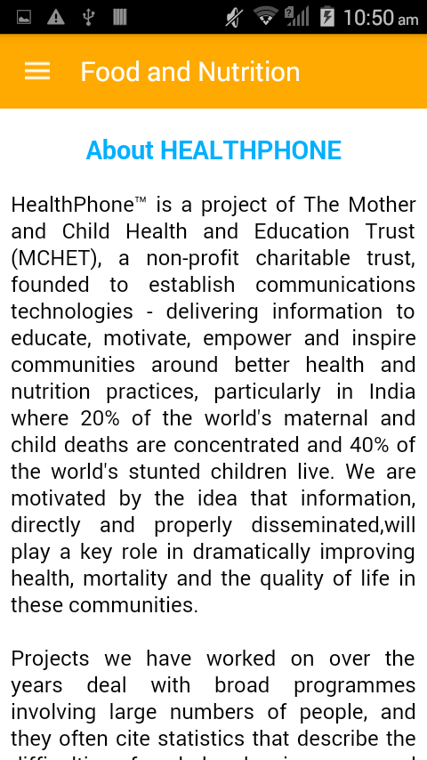 FNB English HealthPhone- screenshot