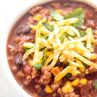 Weight Watcher's Turkey, Corn, and Black Bean Chili