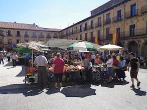 Photo: Marché piaza Mayor