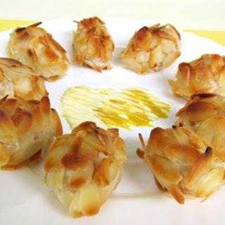 Almond Potato With Salmon Flakes Croquettes