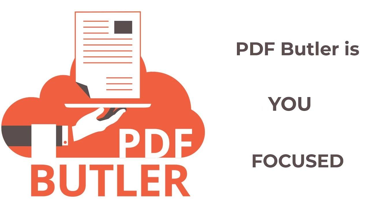 PDF Butler in a nutshell - YouTube