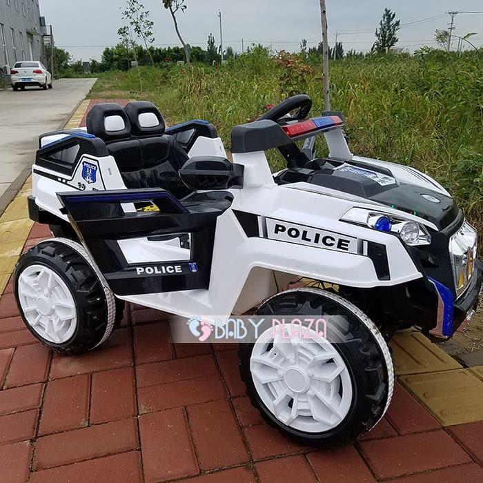 Xe oto điện cảnh sát Jeep YK-0188 3