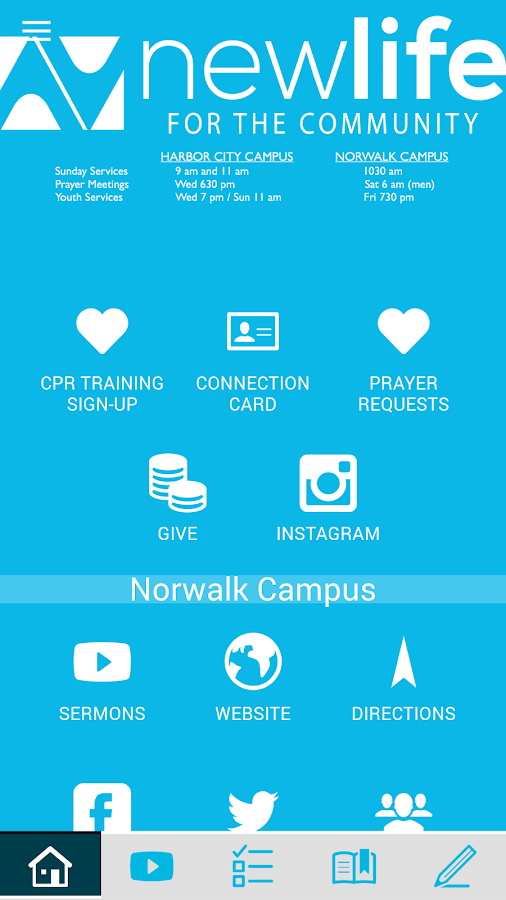 New Life Foursquare- screenshot