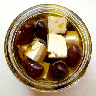 Marinated Feta and Olives