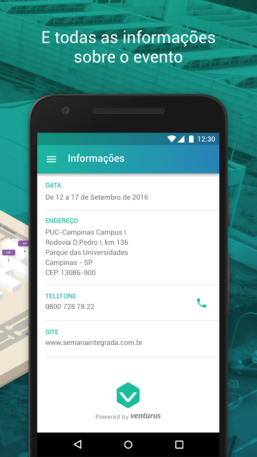 Semana Integrada- screenshot