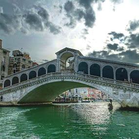 Ponte di Rialto a Venezia by Patrizia Emiliani - Buildings & Architecture Bridges & Suspended Structures ( rialto, hdr, venezia, ponte,  )