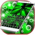 霓虹燈綠色鍵盤 icon