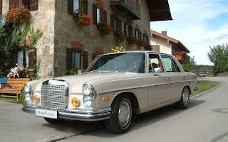 Mercedes-Benz 280 SE 4.5 Rent Deutschlandweit