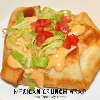 Mexican Crunch Wrap.