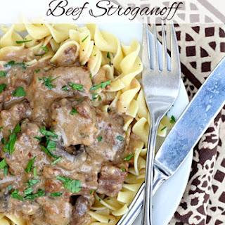 Pressure Cooker Beef Stroganoff Recipe