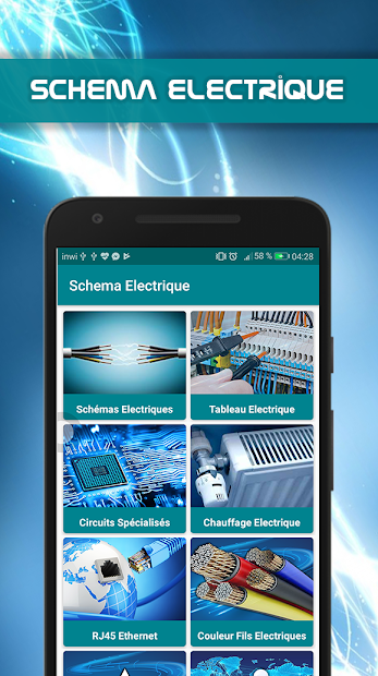 Schema Electrique Android App Screenshot