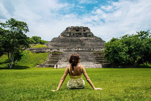Belize-Xumantunich-Maya.jpg - Xunantunich is an Ancient Maya archaeological site in western Belize, about 80 miles west of Belize City, in the Cayo District.