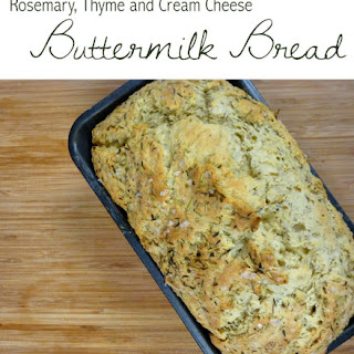 Rosemary, Thyme & Cream Cheese Buttermilk Bread