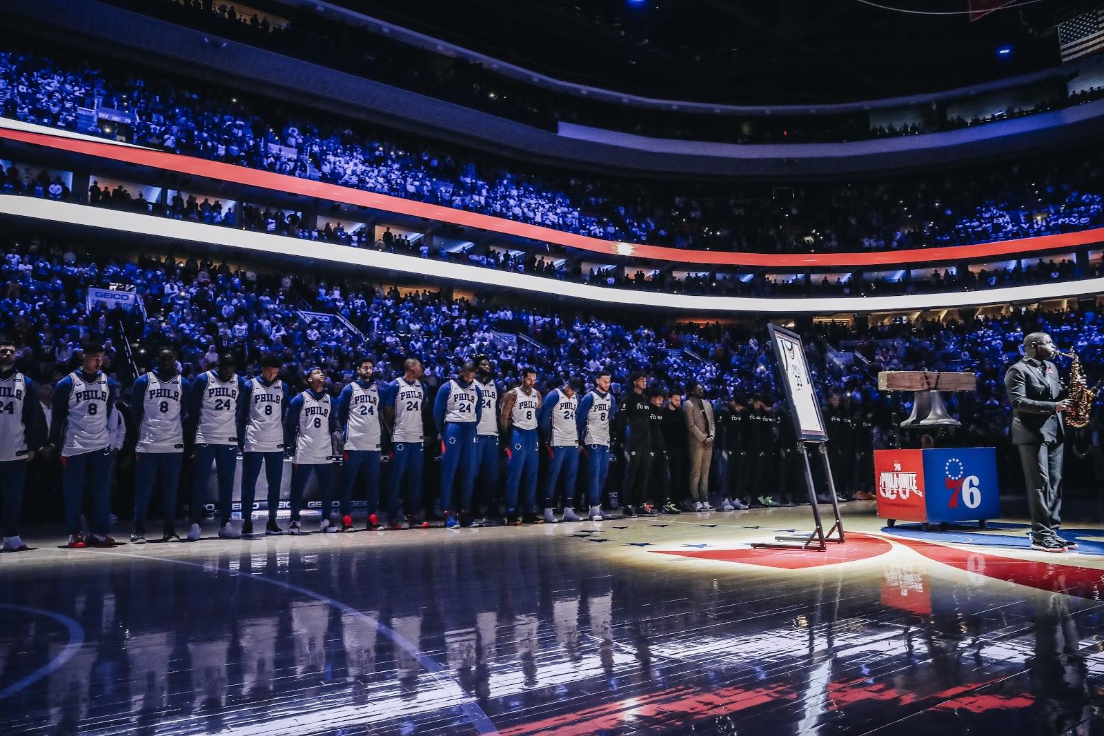 Image result for Philadelphia 76ers tribute