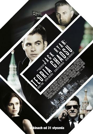 Polski plakat filmu 'Jack Ryan: Teoria Chaosu'