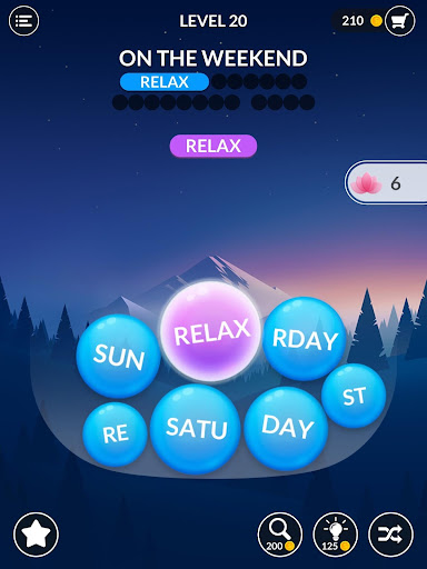 Word Serenity - Calm & Relaxing Brain Puzzle Games apkmr screenshots 15