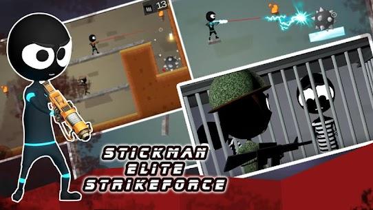 Stickman Shooter Elite Strikeforce 7