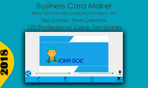 Google business card maker arts arts business card maker android s on google play colourmoves