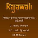 Rajawali 3D Engine Examples icon
