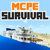 Lost Island Minecraft PE map