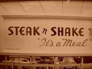 Photo: Some of us ate lunch today at Steak n Shake (actually some at dinner there, too)