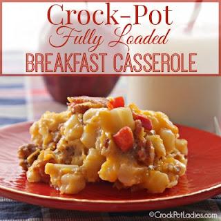 Crock-Pot Fully Loaded Breakfast Casserole.