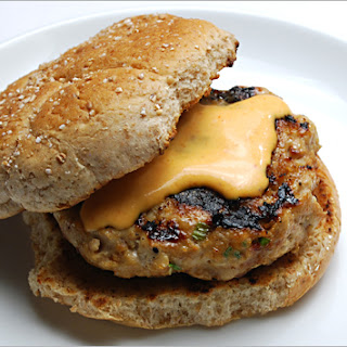 Asian Turkey Burgers with Sriracha Mayonnaise