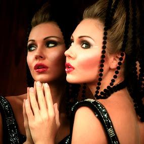 Reflection by Lealiza Seiler - People Fashion ( fashion, ynnah, woman, people )