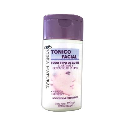 crema facial vibra natural tonico extracto de pepino 120gr Vibra Natural