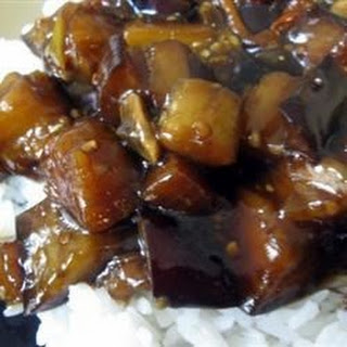 Hot and Sour Chinese Eggplant.