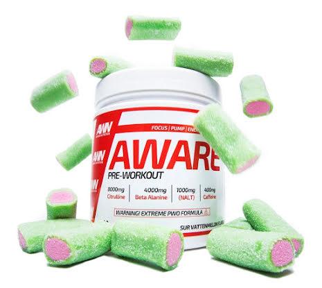 Aware Nutrition PWO 400g - Sur Vattenmelon