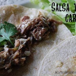 Salsa Verde Carnitas