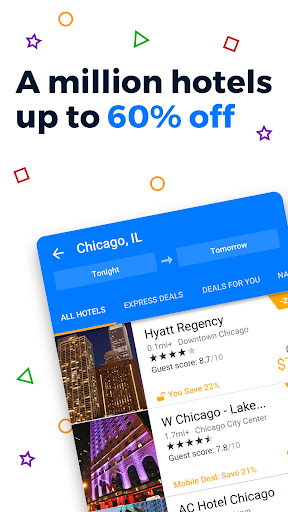 Priceline Hotel Deals, Rental Cars & Flights screenshot