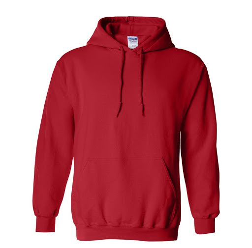 Gildan Heavy Blend Hooded Sweatshirt - Red