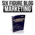 Online blog marketing tips icon