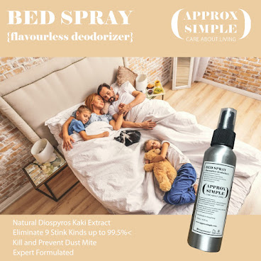BED SPRAY 天然床鋪布料臭味分解噴霧 {無香味} (AS1811)