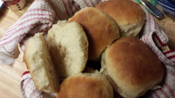 One Hour Buttermilk Rolls Recipe