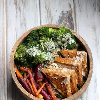 Vegan Quinoa & Spicy Tofu Bowl