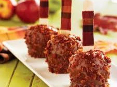 Caramel  Bacon Apples Recipe