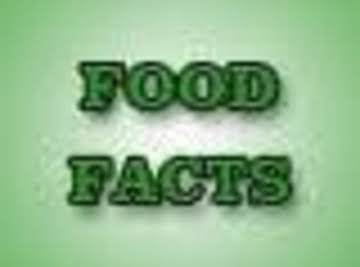 Food Facts,Trivia and Tips