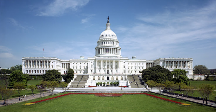 The Capitol Building from the western side.