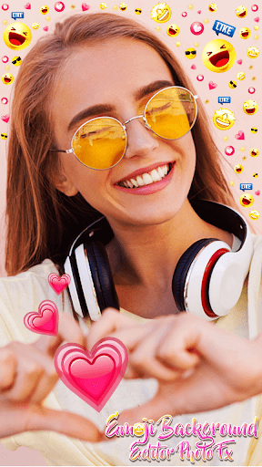 Emoji Background Editor - Photo FX 1.0 Screenshots 6