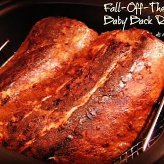 Fall-Off-The Bone Baby Back Ribs, Rub & BBQ Sauce.