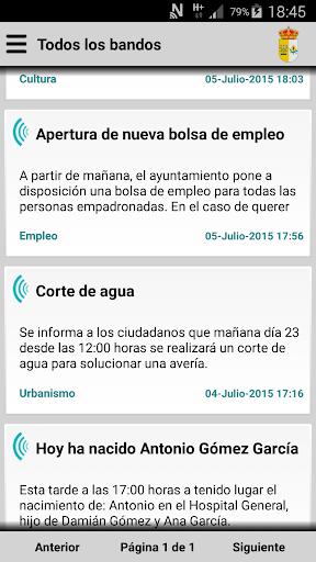 Mohedas de Granadilla Informa