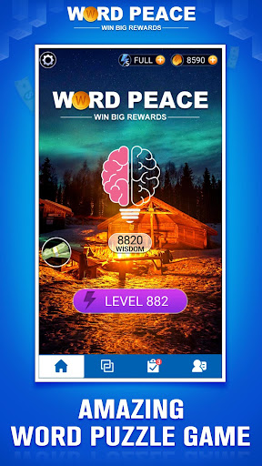 Word Peace -  New Word Game & Puzzles screenshots 1